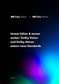 Dolby Onwards And Upwards DE